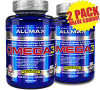 Allmax-omega3-180-value-combo