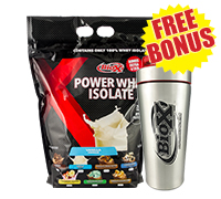 bio-x-power-whey-isolate-stainless-steel-shaker