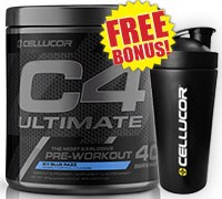 cellucor-c4-ultimate-860g-40-servings-icy-blue-razz-shaker