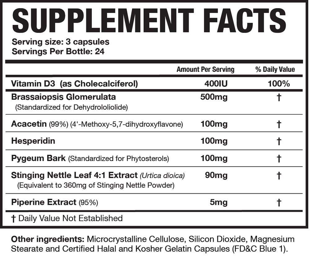 magnum-E-BRAKE-supplement-facts
