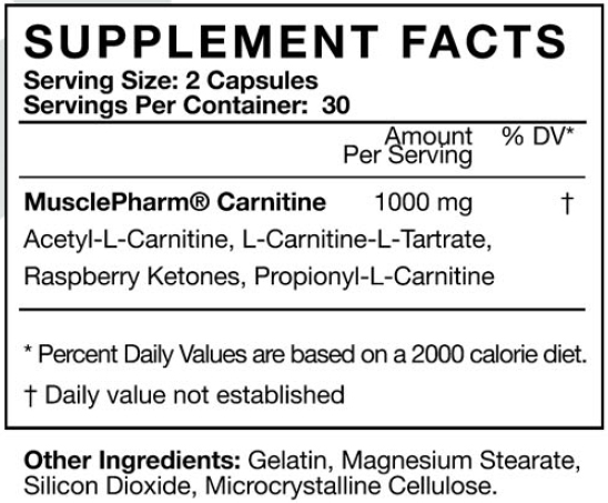 Musclepahrm Carnitine