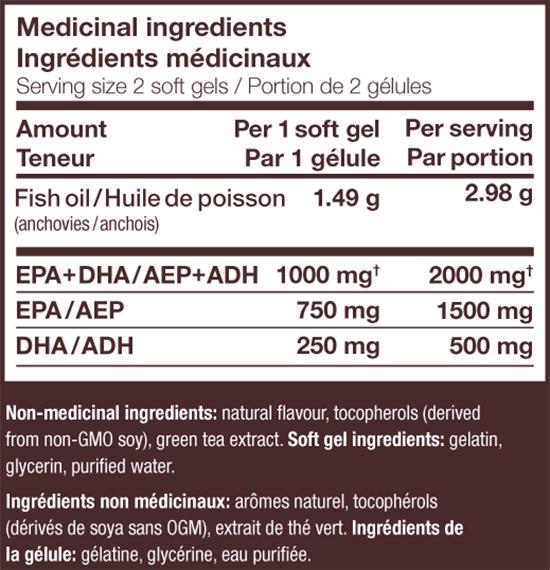 NutraSea HP Omega-3 Extra Strength EPA