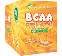 revolution-bcaa-splash-gummies-12-40g-bags-box-fuzzy-peaches