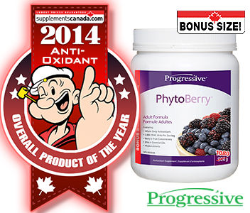 2014 TOP ANTI-OXIDANTS: Progressive, PhytoBerry
