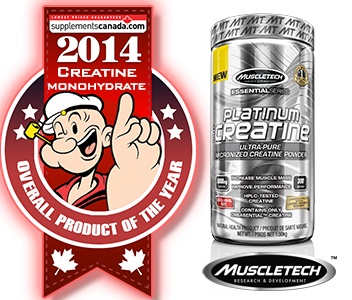 2014 TOP CREATINE MONOHYDRATE: MuscleTech: Platinum Creatine