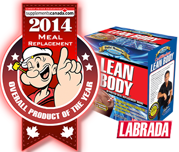 2014 TOP  MEAL REPLACEMENT: Labrada Nutrition: Lean Body