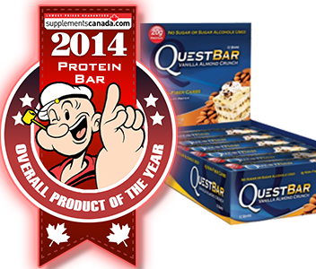 2014 TOP PROTEIN BAR: Quest Protein Bar