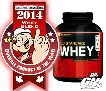 2014 TOP PROTEIN BLEND: Optimum, Gold Standard 100% Whey
