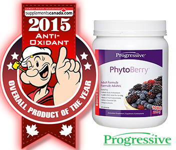 2015 TOP ANTI-OXIDANTS: Progressive, PhytoBerry