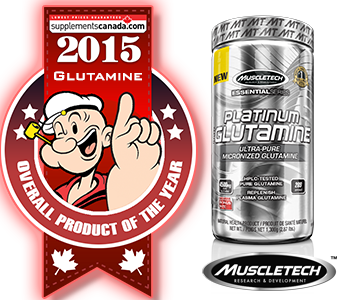 2015 TOP GLUTAMINE: MuscleTech: Platinum Glutamine