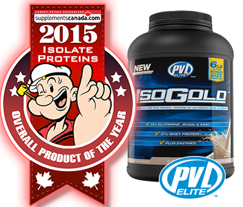 2015 TOP ISOLATE PROTEIN: PVL Iso-Gold Premium Isolated Whey