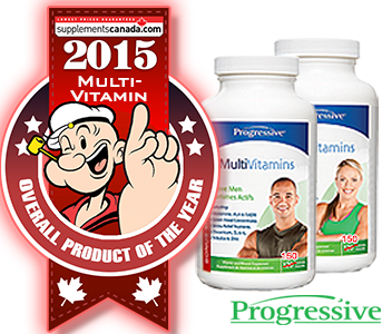 2015 TOP MULTI-VITAMIN: Progressive, Active Men/Women