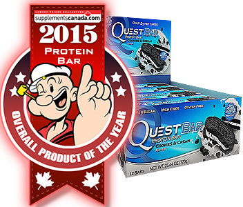 2015 TOP PROTEIN BAR: Quest Protein Bar