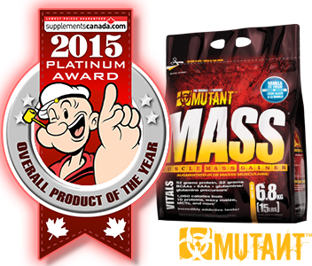 2015 Top Weight Gainer: Mutant Mass