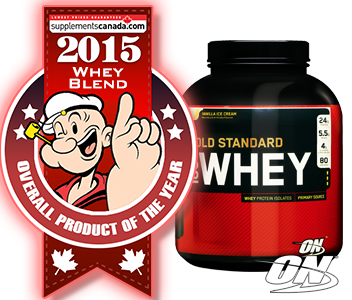 2015 TOP PROTEIN BLEND: Optimum, Gold Standard 100% Whey