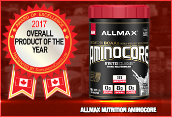 Product Of The Year Award: Allmax Nutrition Aminocore