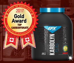 Gold: Top Carbohydrate Post-Workout Award