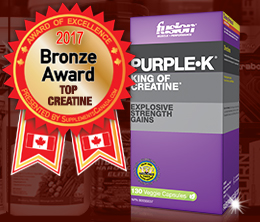 Bronze: Top Creatine Monohydrate Award