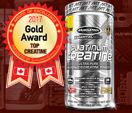 Gold: Top Creatine Monohydrate Award
