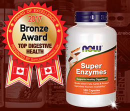 Bronze: Top Probiotic/Digestive Aid Award