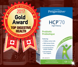Gold: Top Probiotic/Digestive Aid Award