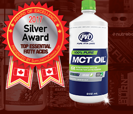 Silver: Top Essential Fatty Acid Award
