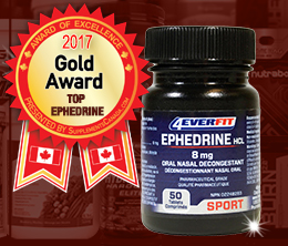 Gold: Top Ephedrine Award