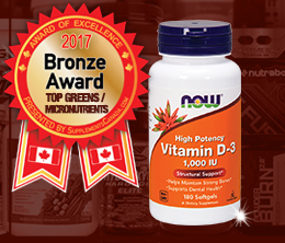 Bronze: Top Greens/Micro-Nutrient Award