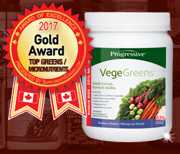 Gold: Top Greens/Micro-Nutrient Award