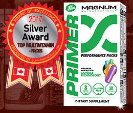 Silver: Top Multi-Vitamin/Pack Award