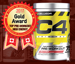 Gold: Top Pre-Workout High Energy Award