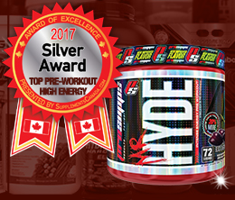 Silver: Top Pre-Workout High Energy Award
