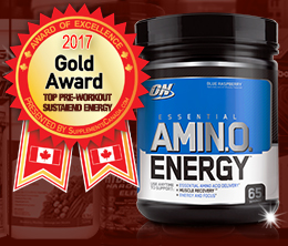Gold: Top Pre-Workout Sustain Energy Award