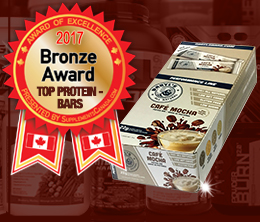 Bronze: Top Protein Bar Award