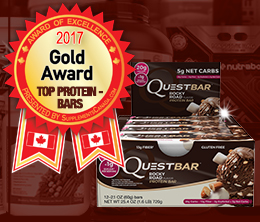 Gold: Top Protein Bar Award