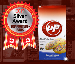 Silver: Top Protein Bar Award