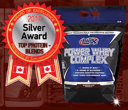 Silver: Protein - Blend Award