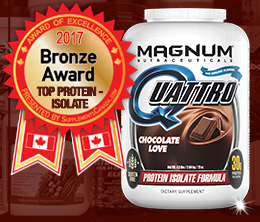 Bronze: Protein - Isolate Award