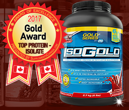 Gold: Protein - Isolate Award