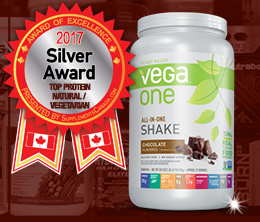 Silver: Top Vegan & Vegetarian Award