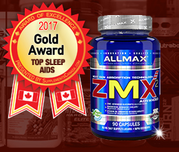 Gold: Top Sleep Aid Award