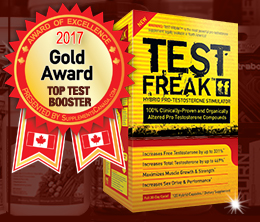 Gold: Top Testosterone Booster Award