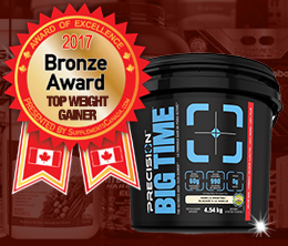 Bronze: Top Weight Gainer Award