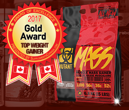 Gold: Top Weight Gainer Award