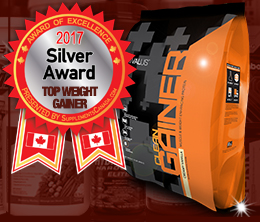 Silver: Top Weight Gainer Award