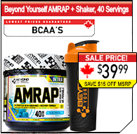 Beyond Yourself AMRAP 40 Servings + Shaker