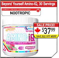 Beyond Yourself Amino-IQ, 37 Servings