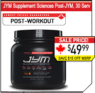JYM Post-Workout