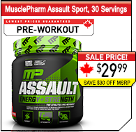 MusclePharm Assault Sport, 29