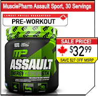MusclePharm Assault 32